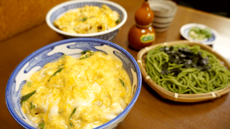 Hisago is famous for their oyakodon