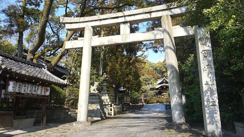 Okazaki Shrine's bunny fortune slip