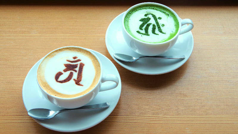 special latte drinks