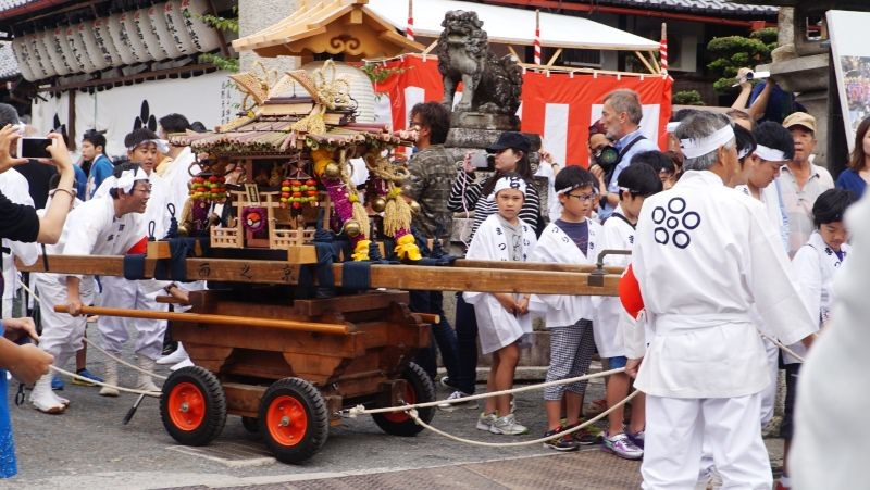 the children's mikoshi