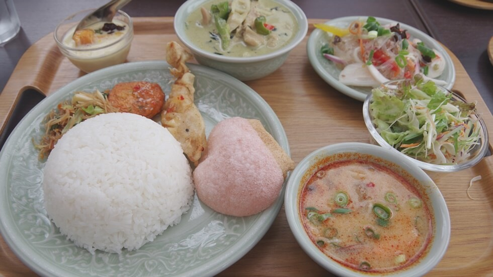 green curry set