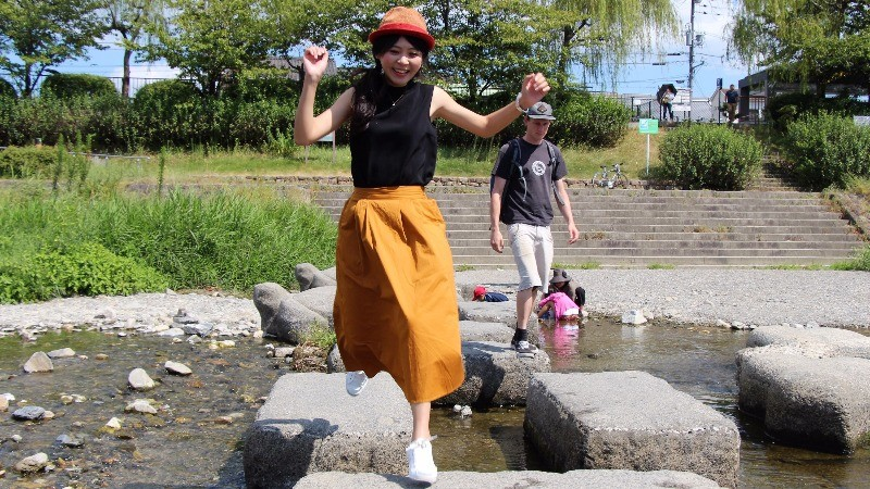 Jump girl, jump!