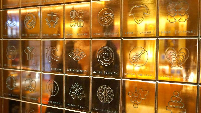 這裡有一整年各日的巧克力所對應的符號