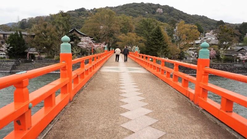 朱紅色的橋