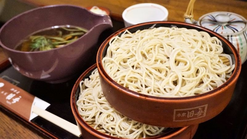 chewy noodles