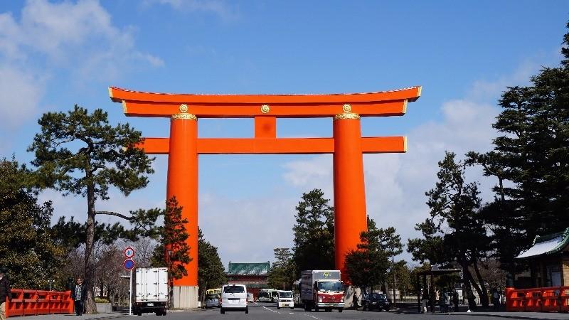 Huge torii