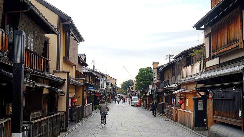 Hanamikoji in Gion