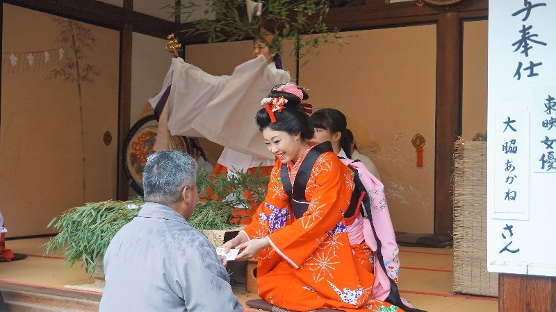 an actress of Toei Movie Studio