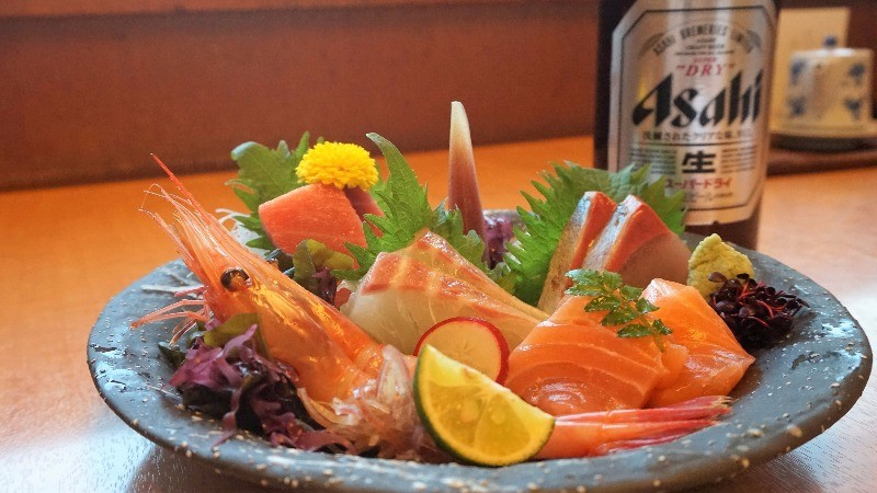 The sweetness of the fatty fish