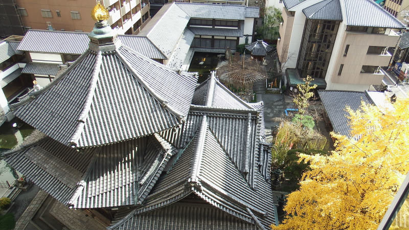 Rokkaku-do Temple's dove fortune slips