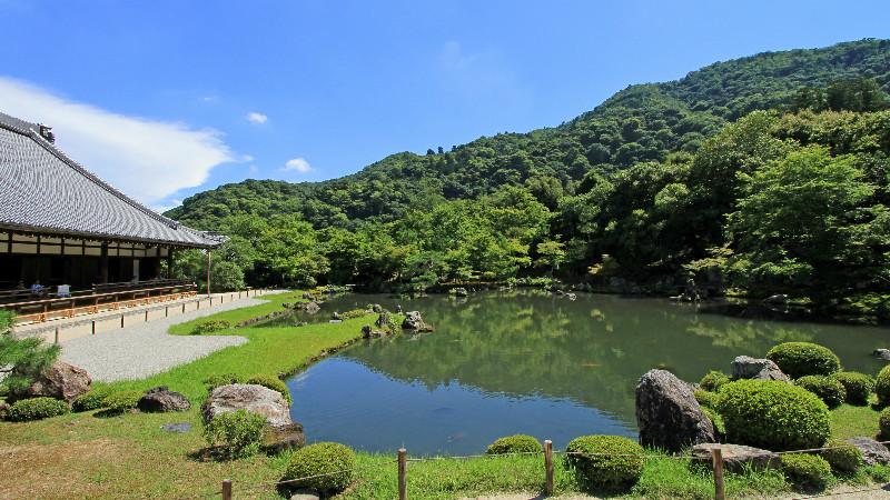 Tenryu-ji Temple's garden