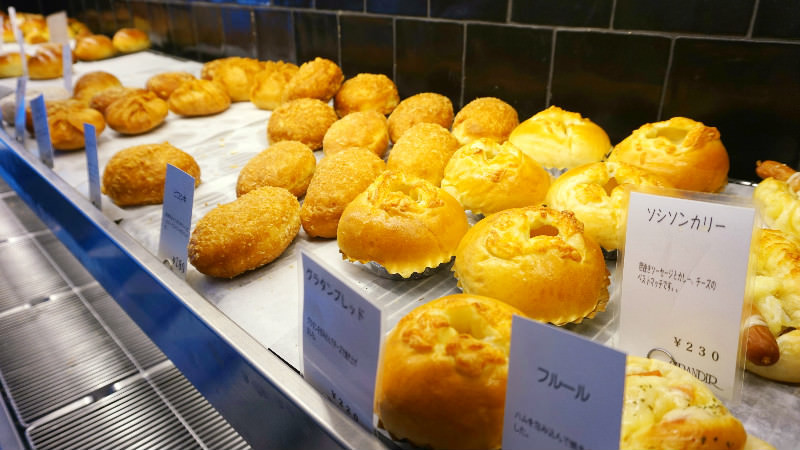 GRANDIR是京都麵包店名店之一