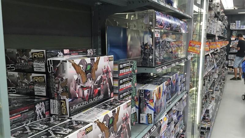 只販賣鋼彈系列相關產品