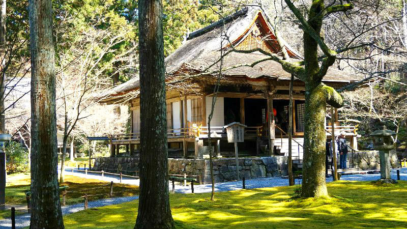 Sanzen-in is a temple in Ohara that is famous for its tasteful garden