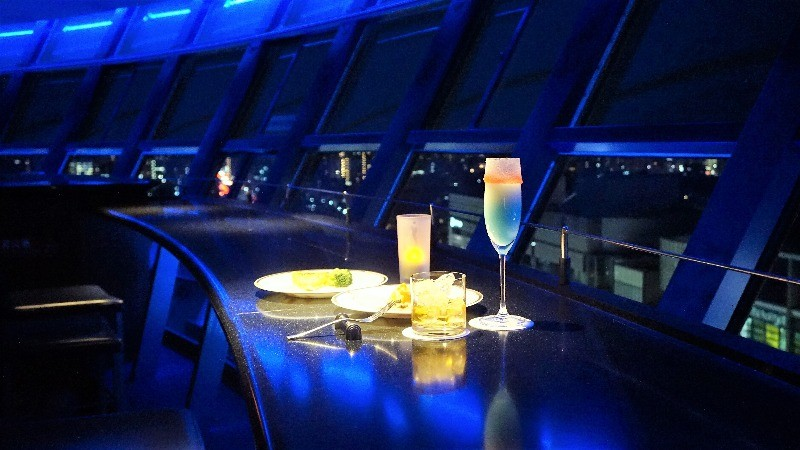 8:00 pm Romantic Dinner at Kyoto Tower Sky Lounge Kuu