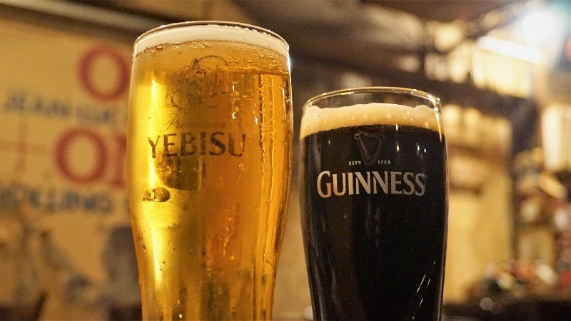 Yebisu or Guinness
