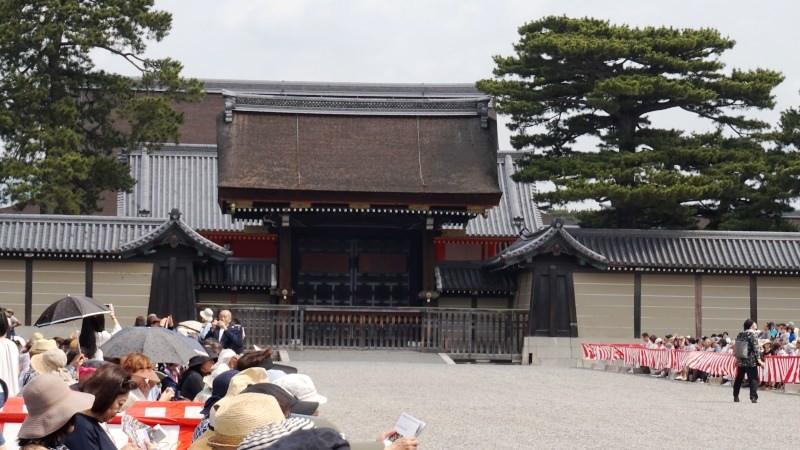 京都御所開始觀看