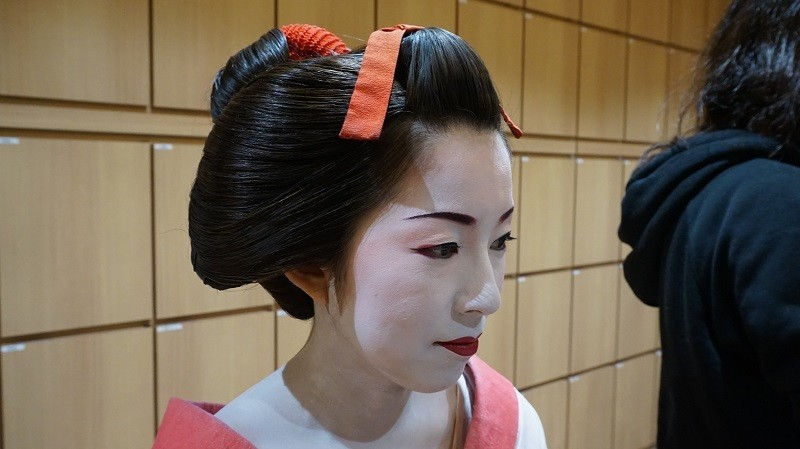She's looking more like a Maiko