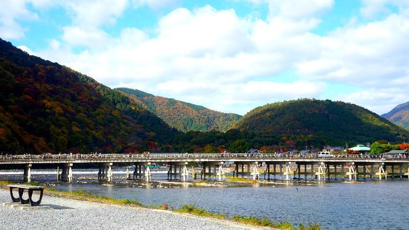 嵐山的渡月橋