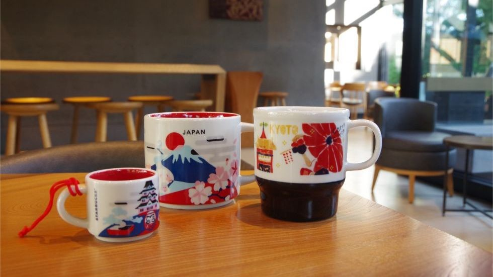 Kyoto-exclusive mugs and tumblers
