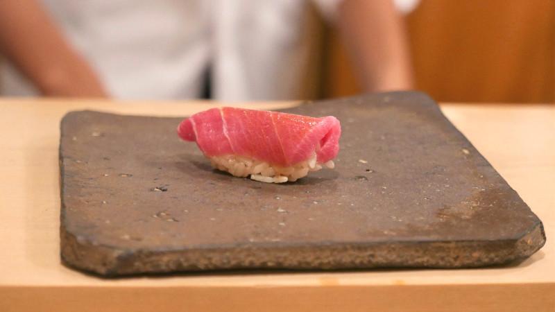 Edomae style sushi