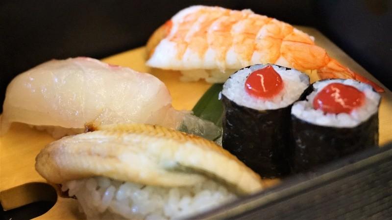 而店家的壽司也是必點