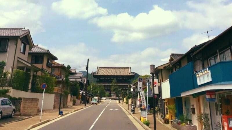 uge Niomon Gate of Ninna-ji Temple