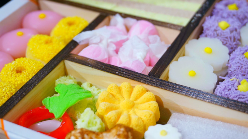 Japanese sweets store