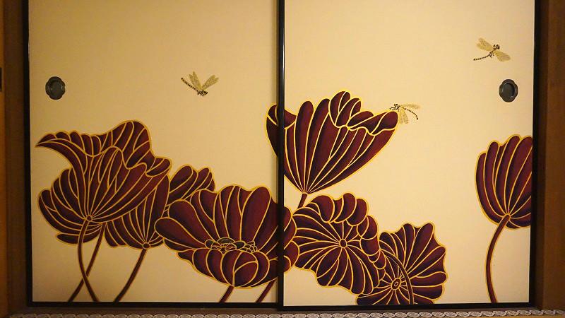 paintings on the fusuma