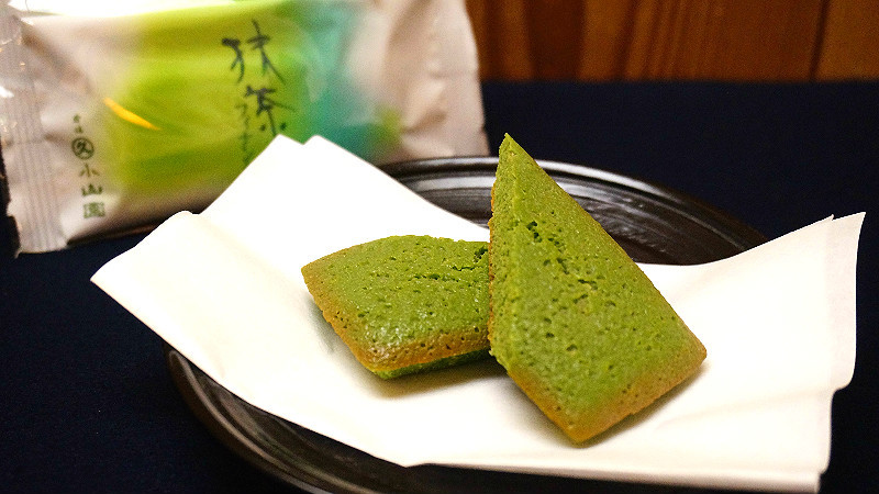matcha cookies and other sweets