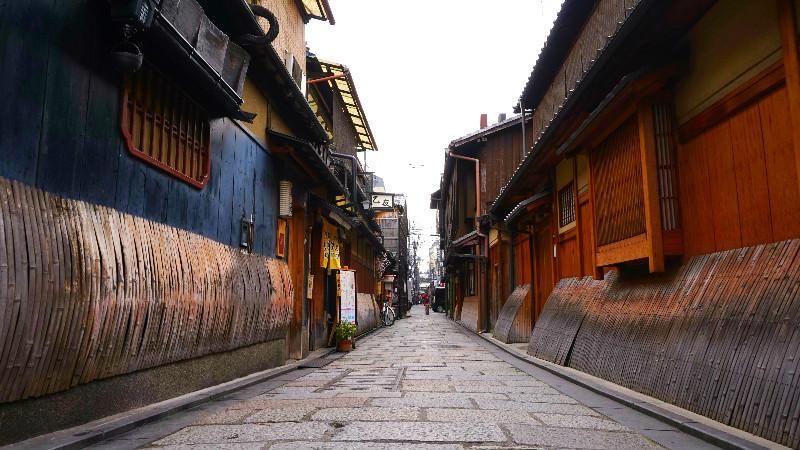 能感受到京都風格的祗園白川