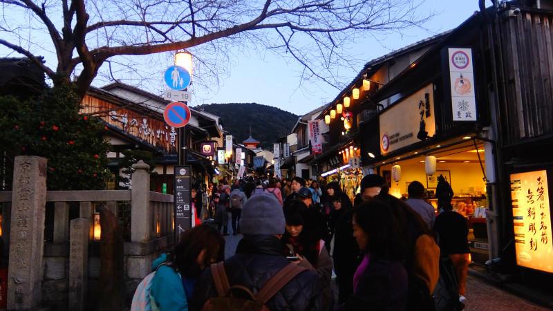 lantern-illuminated streets