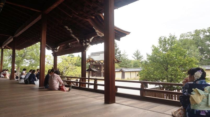 people relaxing inside