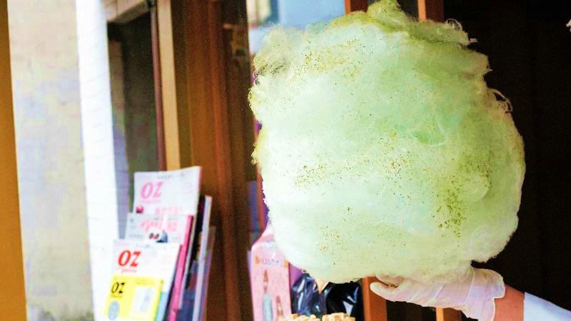 京都風的棉花糖店