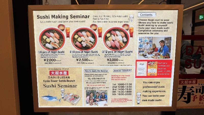 Tips - Sushi Seminar