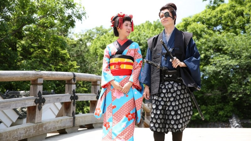 Become a historical figure at Toei Studio Movie Park