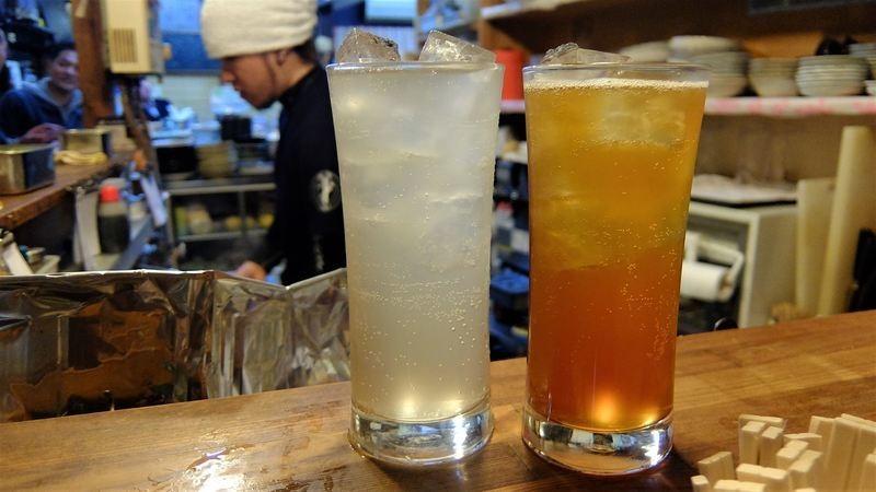 plum and black tea chuhai