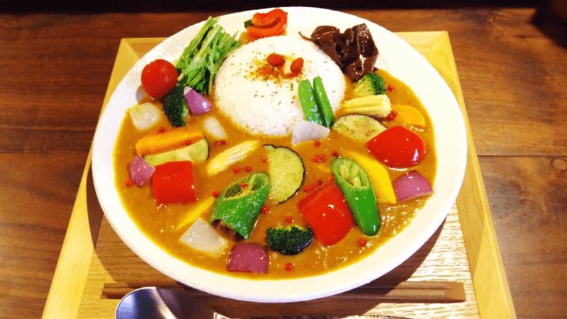 Kyoto-style yakuzen curry.
