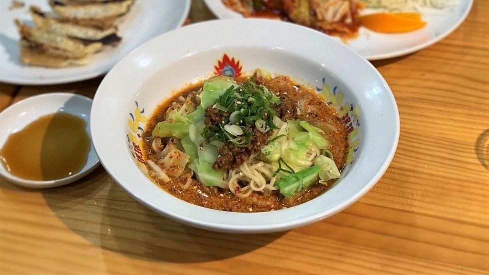 spicy sesame mazemen