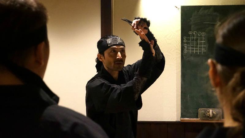 Become a ninja at Ninja Dojo