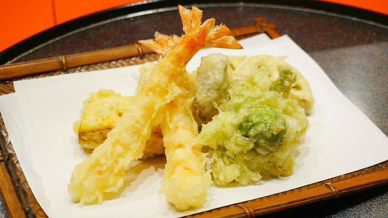 Kyorinsen's tempura