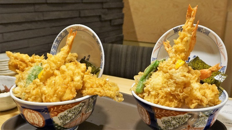 deep-fried tempura