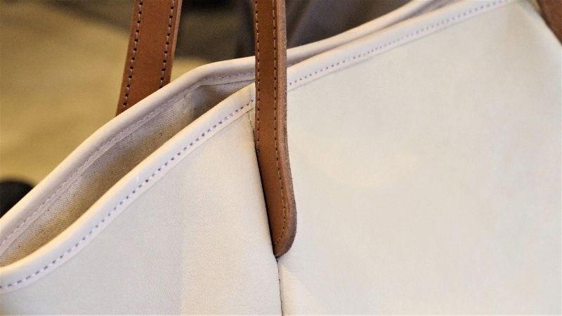 特殊立體肩背袋的裁縫