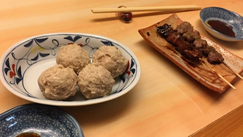 steamed tsukune