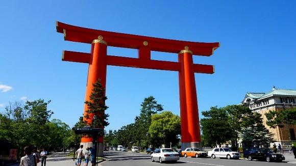 huge Torii gate