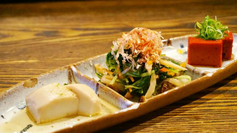還有京都風的小菜