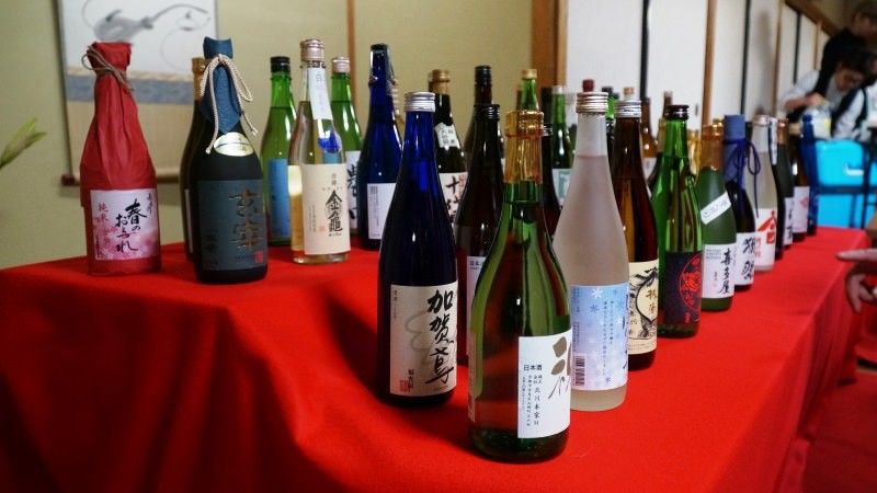 many types of sake
