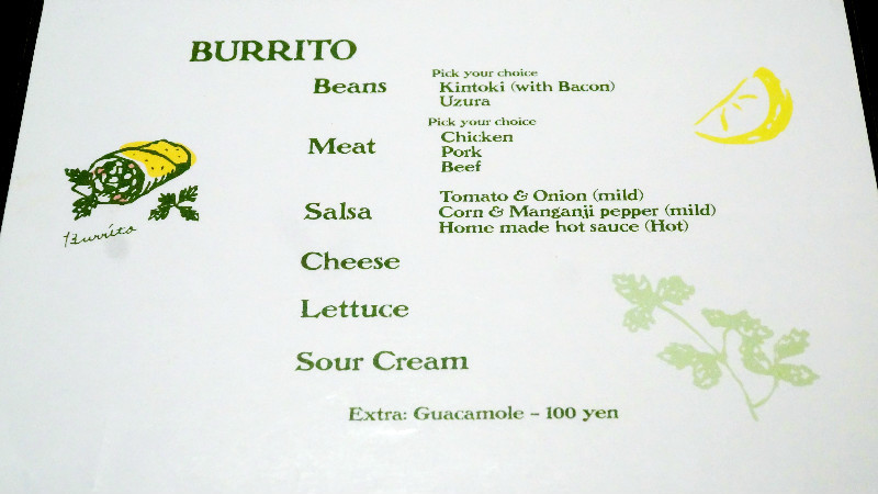 Qué Pasa menu
