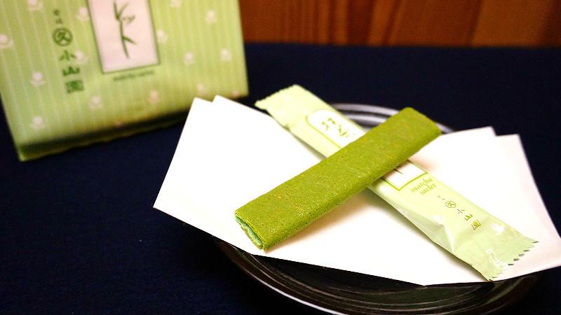 還有抹茶費南雪及薄餅捲都是使用店家優質的抹茶粉製成
