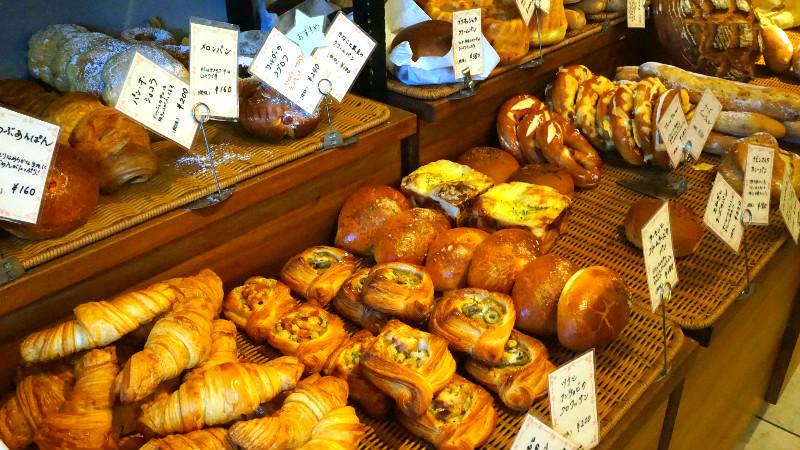 麵包看起來每個都很好吃